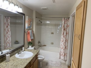1 Bedroom Apartments for rent in Southwest Houston, TX - Model Bathroom