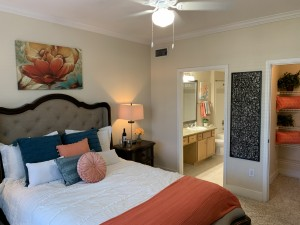 1 Bedroom Apartments for rent in Southwest Houston, TX - Model Bedroom