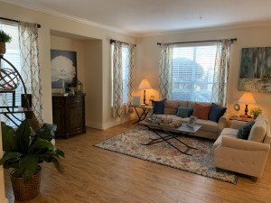 1 Bedroom Apartments for rent in Southwest Houston, TX - Model Living Room (2)