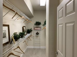 1 Bedroom Apartments for rent in Southwest Houston, TX - Model Walk-In Closet